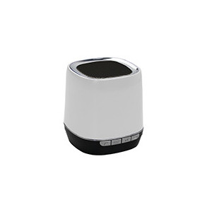 Portable speaker Bluetooth 2,1 - WMA/MP3 - Slot micro SD - batteria 300mAh - color e bianco