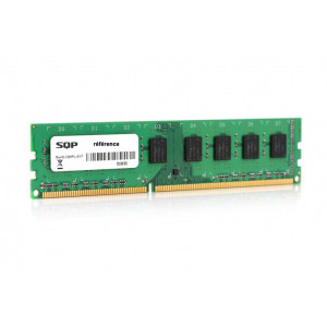 Memoria RAM SQP specifica per Fujitsu - 2GB - DDR3 - Dimm - 1333 MHz - PC3-10600 - Unbuffered - 2R8 - 1.5V - CL9