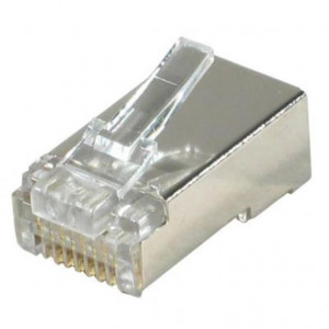 Conf. 20 connettori RJ45 CAT6 - Blindati