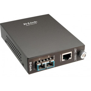 Media Converter - D-Link 1000Base-T verso multimode 1000Base-SX con connettore fibra SC - Distance fino a 550 m