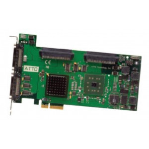 Card Ultra320 SCSI - Host Bus Adapters - 4 x doppio-canale 2 porte est + 2 porte int. - PCI-Express