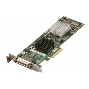 Card Ultra320 SCSI - Host Bus Adapters - 4 x doppio canal 2 porte est - PCI-Express - Low Profil