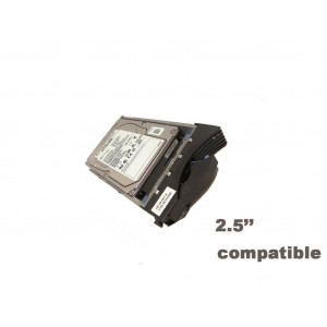 "HDD+cassetto compatibile Dell 2,5"" - capacità 300GB - 10KRpm - SAS 6Gb/s - Compatibile Dell Poweredge 2900 2950 1900 1950, 6900, 6950"