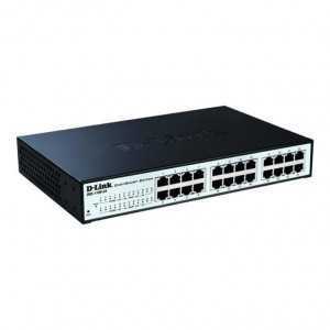 Switch Web Managed - D-Link Easy Smart  24 porte 10/100/1000Mbps FanLess