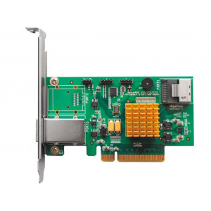Highpoint RocketRAID 2710 - Controller card 4 porte interne SAS/SATA 6 Gb/s - SFF-8087 (mini-SAS) - Raid 0,1,5,10,JBOD - PCI-Express 2.0 8x - Low Profile - Mac/Win/Linux/FreeBSD