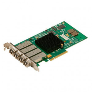 Scheda ATTO Celerity FC-84EN - Quad-Channel 8Gb/s Fibre Channel PCIe 2.0 Host Bus Adapter (includes SFPs)