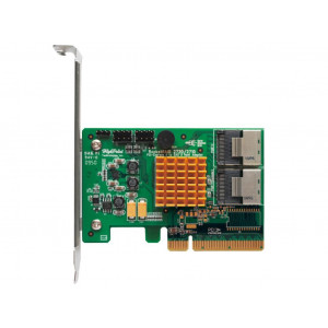 Highpoint RocketRAID 2720 - Controller card 8 porte interne SAS/SATA 6 Gb/s - 2x SFF-8087 (mini-SAS) - Raid 0,1,5,10,JBOD - PCI-Express 2.0 8x - Low Profile - Mac/Win/Linux/FreeBSD