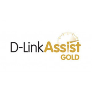 Contratto D-Link Assist Gold - Categoria B - 1 Anno - 7/7 - 24/24h - on-site h+4