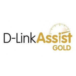 Contratto D-Link Assist Gold - Categoria B - 3 anni - 7/7 - 24/24h - on-site h+4