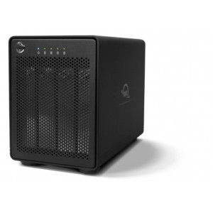 OWC ThunderBay4 - 12TB (4x3TB) - No RAID - 2 interfaccie Thunderbolt2 - assemblato da SQP - sistema di back up Pro Mac/PC - 2 anni Garanzia