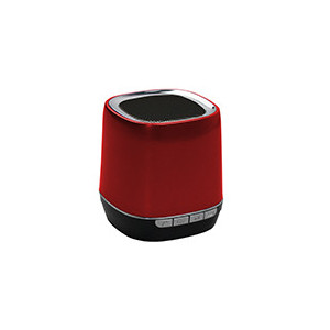 Portable speaker Bluetooth 2,1 - WMA/MP3 - Slot micro SD - batteria 300mAh - color e Rosso