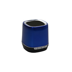 Portable speaker Bluetooth 2,1 - WMA/MP3 - Slot micro SD  - batteria 300mAh - color e Blu