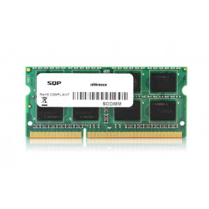 Memoria RAM SQP specifica  per Intel - 2GB - DDR3 - SoDimm - 1600 MHz - PC3-12800 - Unbuffered - 1R8 - 1.35V - CL11