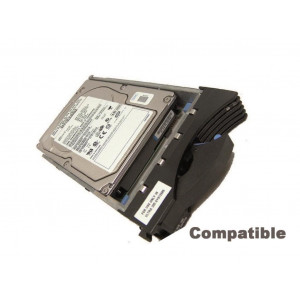 "HDD+cassetto compatibile Dell 3,5"" - capacità 2TB - 7200Rpm - SATA 6Gb/s - Compatibile Dell Poweredge 2900 2950 1900 1950, 6900, 695"