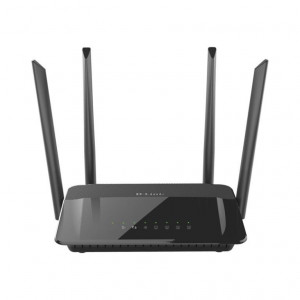 Router Wireless AC1200 Dual Band Gigabit - antenne esterne - 802.11ac 5GHz 867Mbps max