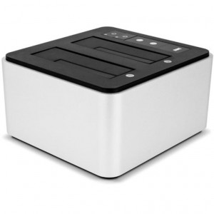"Dock Dual Drive USB 3.0 Thunderbolt 2 - Drive Dock - Compatibile HDD 2,5""/3,5"" SATA"