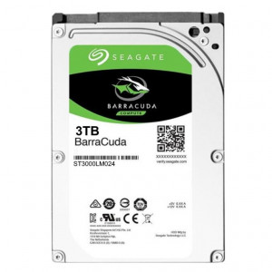 "Hard Disk Seagate 2,5"" - capacità 3 TB - SATA 6Gb/s - 5400 rpm - 128MB Cache - Serie Laptop HDD 15mm"