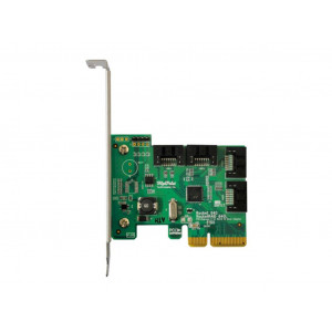 Highpoint Rocket 640L - Controller card 4 port interne SATA 6Gb/s - Raid 0,1, - PCI-Express 2.0 x4 - Mac/Windows/Linux/FreeBSD