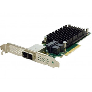 ExpressSAS x8 PCIe Gen3.0 8-Port Ext/8-Port Int 12Gb SAS/SATA Low Profile