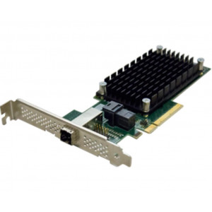 ExpressSAS x8 PCIe Gen3.0 to 4-Port Ext/4-Port Int 12Gb SAS/SATA Low Profile