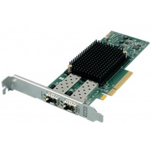 Scheda ATTO Celerity FC-322E - Dual-Channel 32Gb/s Gen 6 Fibre Channel PCIe 3.0 Host Bus Adapter (includes SFPs) - Includes high- and low-profile form factor bracket