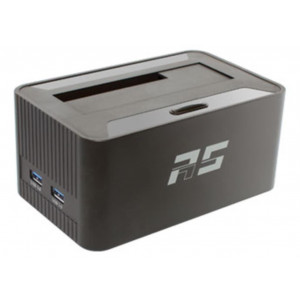 Highpoint RocketStor 5411D - Dock SATA 6Gb/s - multi-interfaccie: 1 x USB 3.0 verso 2 x USB 3.0, 1 x Ehernet, 1 x slot SD, audio IN/OUT