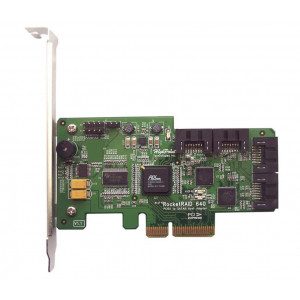 Highpoint RocketRAID 640L - Controller card 4 porte interne SATA - Raid 0,1,5,10,JBOD - PCI-Express 2.0 x4 - Mac/Windows/Linux/FreeBSD
