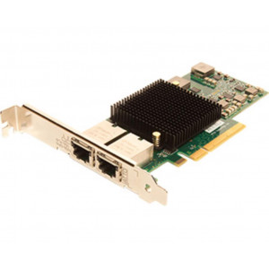 FastFrame Dual Channel x8 PCIe Gen2.0 10Gb Ethernet NIC Low Profile RJ45 interfaccia