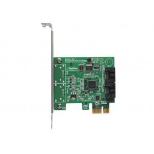 Highpoint Rocket 620A - Controller card 2 porte interne SATA 6Gb/s - NO RAID - PCI-Express 2.0 x1 - Mac/Windows/Linux/FreeBSD