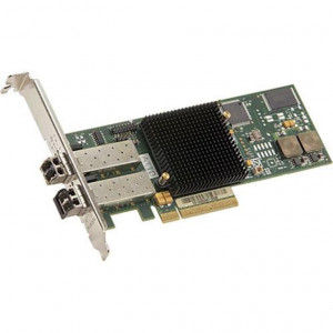 Scheda ATTO Celerity FC-162P - Dual-Channel 16Gb/s Gen 6 Fibre Channel PCIe 3.0 Host Bus Adapter (includes SFPs) - Includes high- and low-profile form factor bracket