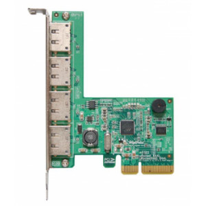 Highpoint Rocket 644L - Controller card 4 porte esterne eSATA 6Gb/s - Raid 0,1 - PCI-Express 2.0 x4 - Mac/Windows/Linux/FreeBSD
