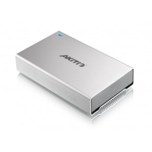 "AKiTiO box SK-3501 Super-S3 - 1xHDD 3,5"" - Interfaccia :1 x USB3.0, 2 x  FW800, 1 x eSata"