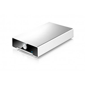 AKiTiO Alu - disco esterno USB type C - 2TB 5400 rpm- box aluminium - Mac e PC - consegnato con cavo