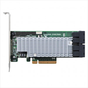 Highpoint RocketRAID 3740A - Controller card 16 porte SAS/SATA interne - Raid 0,1,5,10,JBOD - PCI 32 bits - Mac/Win/Linux/FreeBSD