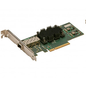 FastFrame Single Channel x8 PCIe Gen2.0 10GbE w/O SFP+ interfaccia (low-profile)