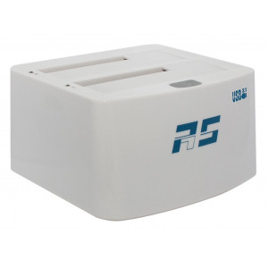 Highpoint RocketStor 3122B - Dock 2 slot SATA 6Gb/s - 2 porte USB 3.1