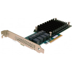 ExpressSAS x8 PCIe Gen3.0 to 12Gb SAS/SATA 16 Int Port Low Profile