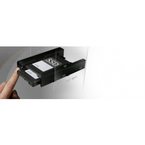 """IcyDock EZ-Fit PRO MB082SP - Dual 2.5"""" HDD & SSD Full Metal Mounting Bracket for Internal 3.5"""" Drive Bay"""