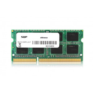 Memoria RAM SQP specifica  per Apple - 8GB - DDR4 - SoDimm - 2400 MHz - PC4-19200 - Unbuffered - 1R8 - 1.2V - CL17