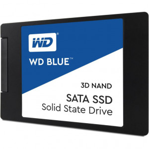 "SSD WD 2,5"" 500GB - 560/530MBps - SATA 6Gbps - Western Digital Blue 3D NAND SSD 7mm"