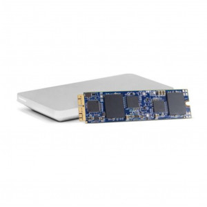 OWC Kit SSD Aura Pro X2 480GB + box - Compatibile MacPro Late 2013 - Necessita di macOS 10.13 o superiore