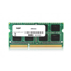 Memoria RAM SQP specifica  per Lenovo - 8 Gb - DDR3 - Sodimm - 1600 MHz - PC3-12800 - Unbuffered - 2R8 - 1.35V - CL11