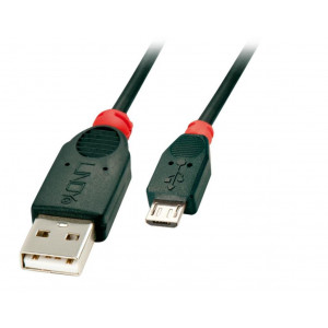 Cavo usb 2.0 tipo a / micro-b high speed, 1mt