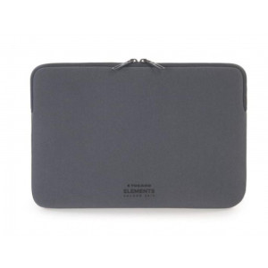 "Custodia in neoprene Tucano Elements Second Skin per MacBook 12""- colore grigio scuro"