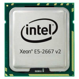 HP CPU Intel Xeon E5-2667 v2 3.3GHz 25MB Cache 8-Core per HP DL360p Gen8 - Bulk