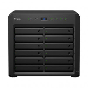 NAS Synology Tower DS3617xs 96TB (12 x 8 TB) HDD IronWolf  Pro
