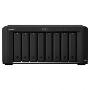 NAS Synology Tower DS1817+ (8GB) 64TB (8 x 8TB) HDD Ironwolf Pro