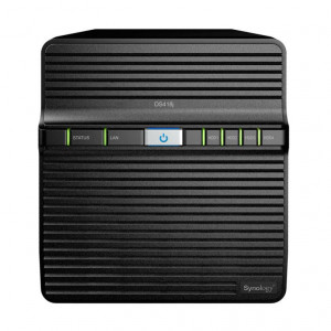 "NAS Synology Tower DS418J (Senza HDD) - Supporta 4xHDD/SSD 3,5""/2,5"" SATA 6Gb/s - 1GB DDR4"