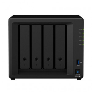 NAS Synology Tower DS918+ 24TB (4 x 6 TB) assemblato con HDD WD Red NAS