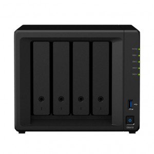 NAS Synology Tower DS418 8TB (4 x 2TB) HDD IronWolf